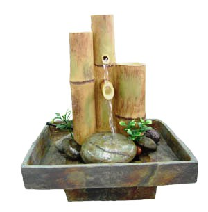 Fountains Supplies Mini Water Basket Fountain Chakra