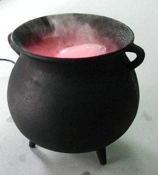 Cauldron Mist Lamp