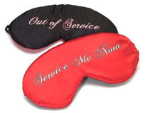Eye Shades Out of Service/ Service Me Now