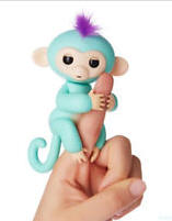Interactive Baby Monkey Finger Motion and Sound