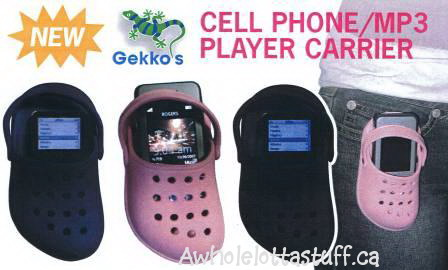 Gekko's Cell Phone/ MP Player Carrier