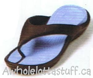 Gekko's  Flip Flops Light Blue Brown