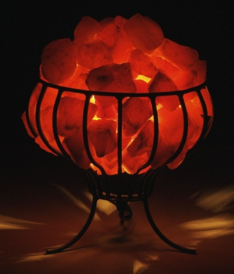 Salt Lamps Fire : Himalayan Crystal Salt Bowl Of Fire Lamp Out Stock USD 43 99 Picture to Pin on Pinterest - ThePinsta