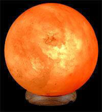 Himalayan Crystal Salt Sphere Lamp
