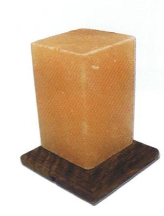 Himalayan Crystal Salt Rectangle Lamp