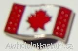 Shoe Charm  Canadian Flag