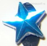 Gem Shoe Charm Blue Star