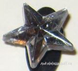 Gem Shoe Charm Silver Star