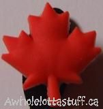Shoe Charm Maple Leaf