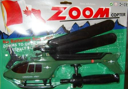 Canadian Army Zoom Copter